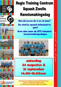 Kennismaking dag squash 2013