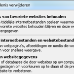 Weergave speelschema website