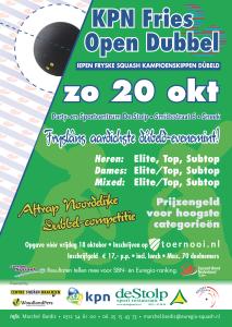 Poster KPN Fries Open Dubbel '13