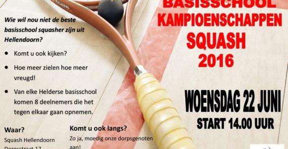Poster Helderse kampioenschappen 2016 Winkels